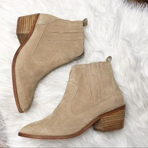NEW Steve Madden Bounty Western Suede Leather